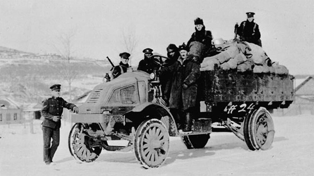 Αποβίβαση Αγγλογαλλικών στρατευμάτων στο Νοβοροσίσκ το 1918