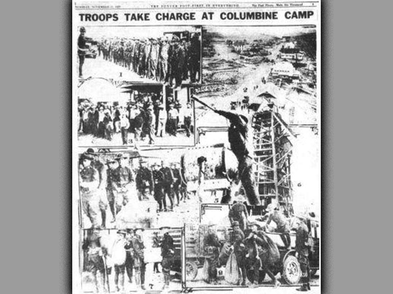Η «σφαγή των ανθρακωρύχων του Κολουμπάιν» το 1927