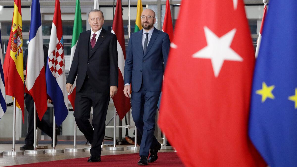 Συνάντηση του Προέδρου του Ευρωπαϊκού Συμβουλίου Σ. Μισέλ με το Πρόεδρο της Τουρκίας Ρ.Τ. Ερντογάν - 6/3/2020
