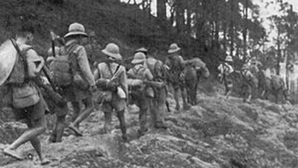 Γαλλικά αποικιοκρατικά στρατεύματα στην Ινδοκίνα, 1940