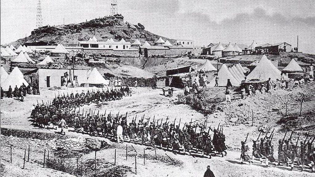 Γάλλοι στρατιώτες στο Μαρόκο το 1911