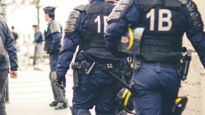 «ΜΑΤ» της γαλλικής αστυνομίας στη Λυών