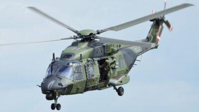 Ελικόπτερο του Γερμανικού Στρατού NH90