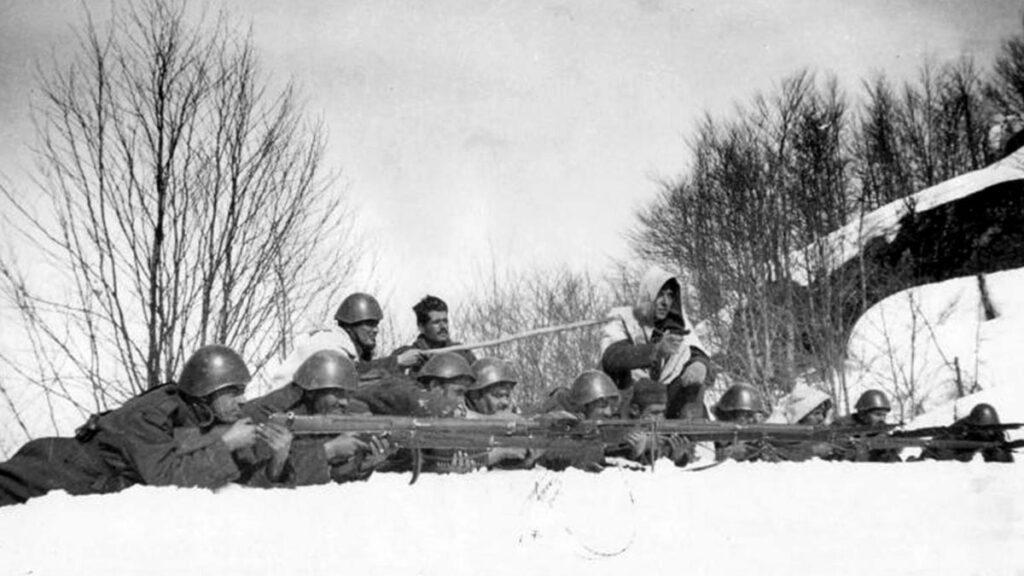 Ο ελληνικός στρατός περνά στην αντεπίθεση στο ελληνοϊταλικό μέτωπο το 1941