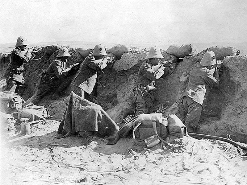 Ιταλοί στρατιώτες στην Τρίπολη