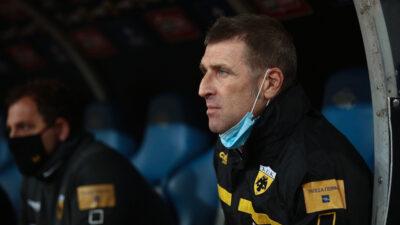 Ο Προπονητής της ΑΕΚ, Μάσιμο Καρέρα