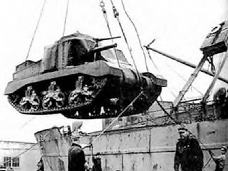 Μεταφορά αμερικάνικου οπλισμού σε εμπόλεμες δυνάμεις το 1939