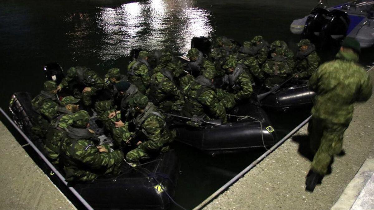 Στρατός - Νυχτερινές εκπαιδευτικές δραστηριότητες Μονάδων Ειδικών Δυνάμεων - Γενάρης 2019