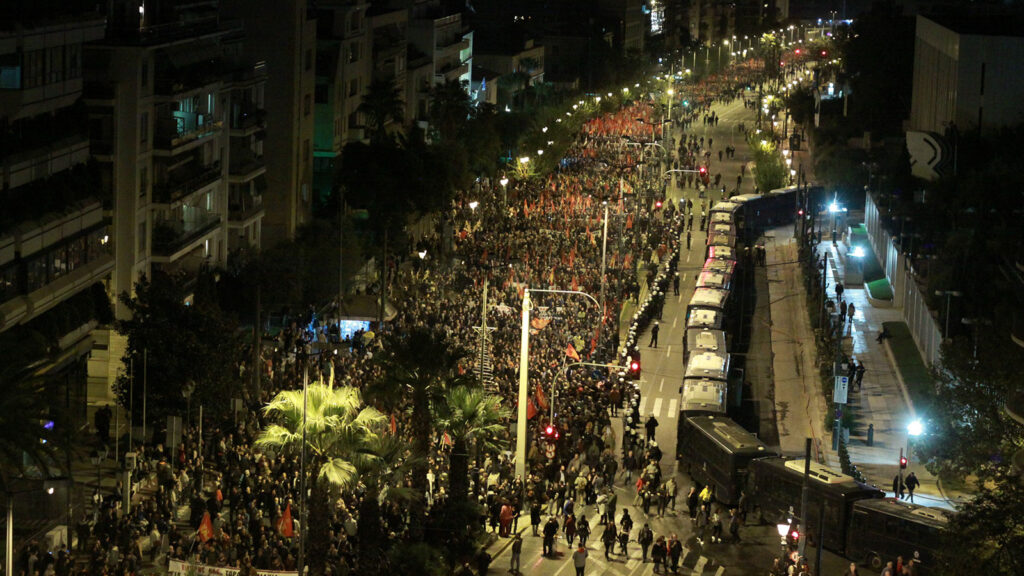17 Νοεμβρίου 1973 - Αντιμπεριαλιστική πορεία για την επέτειο της εξέγερσης του Πολυτεχνείου (17/11/2019)