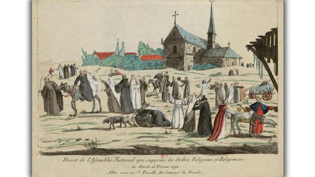 Γαλλική Επανάσταση - εθνικοποίηση εκκλησιαστικής περιουσίας