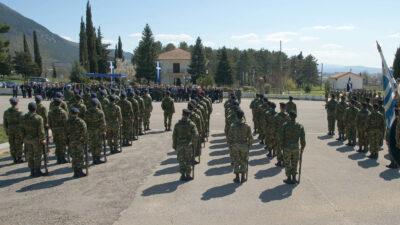 (Φωτό Αρχείου) Στρατιώτες σε παράταξη - 8η Μεραρχία, Ιωάννινα