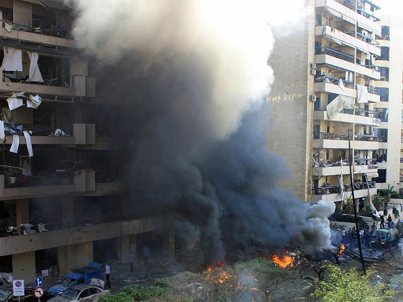 Βομβιστική επίθεση στη Βηρυτό το 2013
