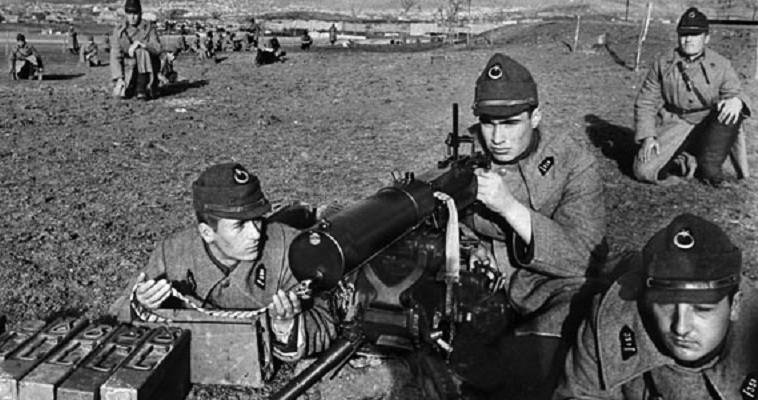 Τούρκικος στρατός στον Β΄ Παγκόσμιο Πόλεμο
