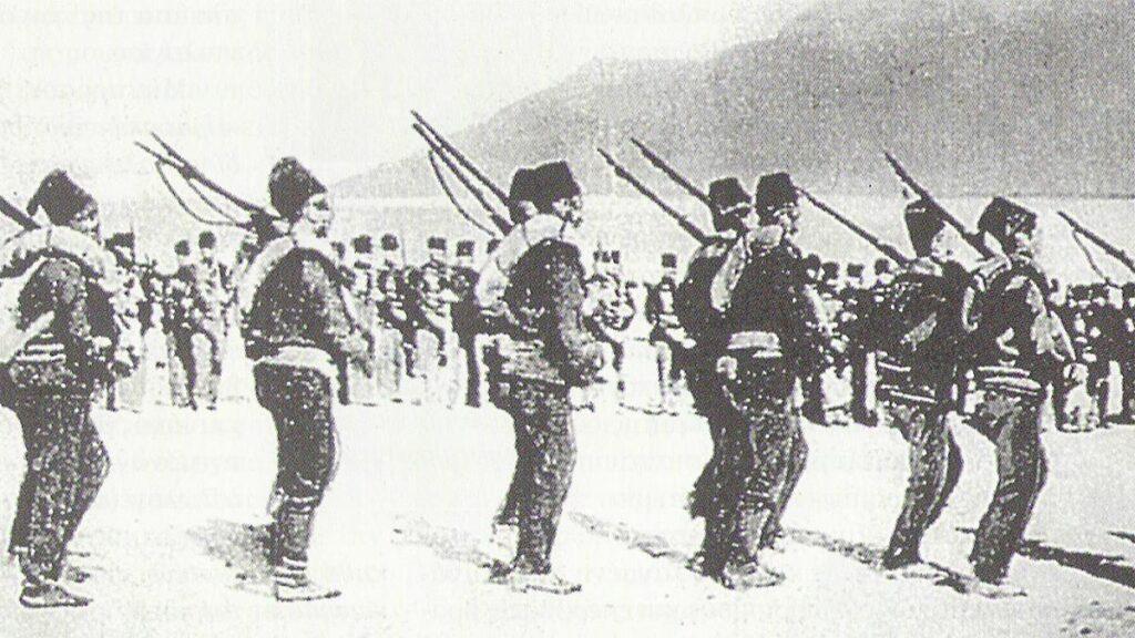 Τουρκικές δυνάμεις στην Κρήτη το 1898