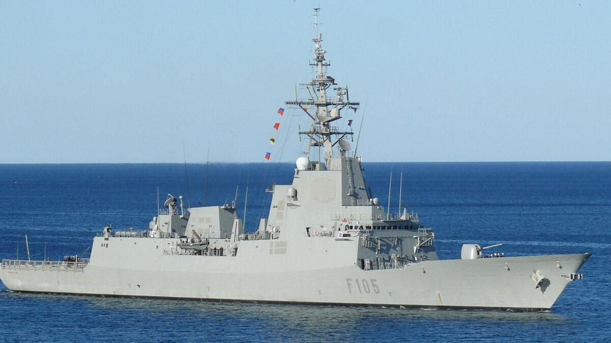Φρεγάτα του ισπανικού Πολεμικού Ναυτικού Cristóbal Colón (F105)