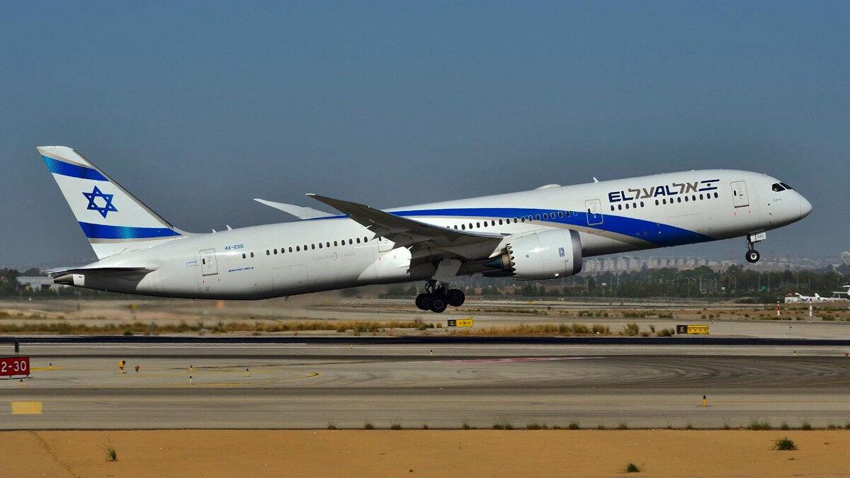 Αεροπλάνο Επιβατικό - απογείωση - Ισραηλινές Αερογραμμές