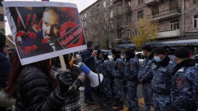 διαδηλώσεις στην αρμενία