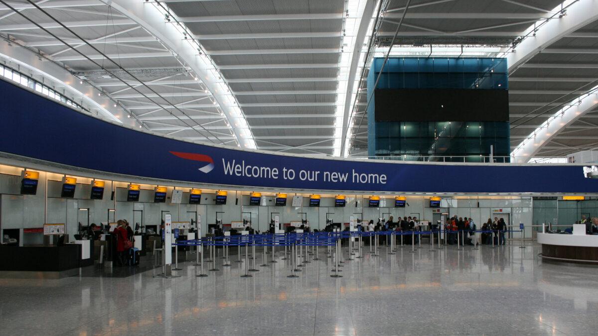 Αγγλία - Μ. Βρετανία - Αεροδρόμιο Heathrow του Λονδίνου - Τέρμιναλ 5