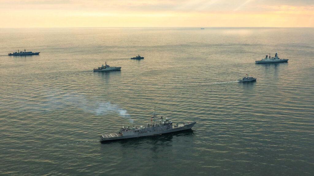 Πολεμικές ασκήσεις του ΝΑΤΟ στη Μαύρη Θάλασσα με συμμετοχή των στολίσκων της SNMG2 και της SNMCMG2 το 2018