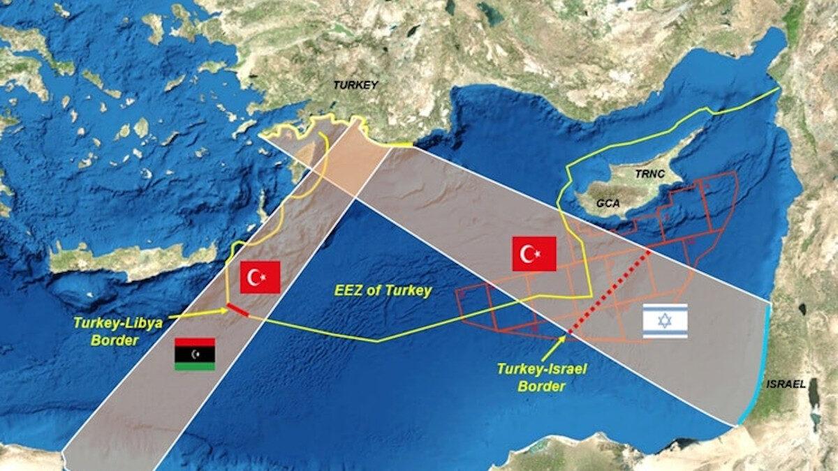 Τουρκία Ισραήλ ΑΟΖ