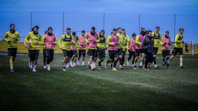 Tελευταία προπόνηση της ΑΕΚ πριν το ματς με τη Ζόρια για την 5η αγωνιστική για τους ομίλους του Europa League