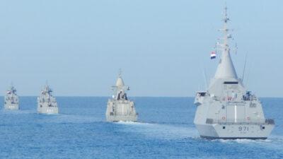 Πολυεθνική διακλαδική άσκηση ΜΕΔΟΥΣΑ 10 στα ανοιχτά της Αλεξάνδρειας, Αιγύπτου με τη συμμετοχή Ελλάδας, Κύπρου, Γαλλίας, ΗΑΕ και Αιγύπτου