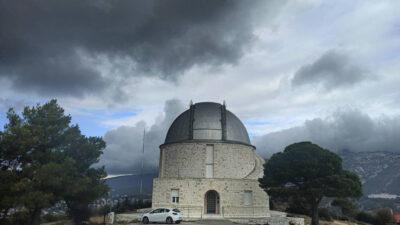 Αστεροσκοπείο Πεντέλη - Αττική - Καιρός - Νεφώσεις -Αθήνα