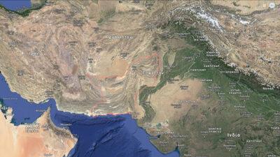 Χάρτης επαρχίας Balochistan του Πακιστάν