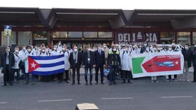 Ιατρική αποστολή βοήθειας της Κούβας στην Ιταλία - Μάρτης 2020
