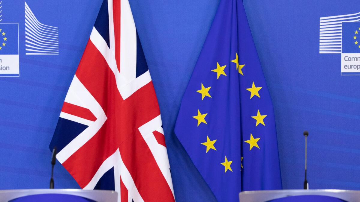 Brexit - Μ. Βρετανία - Ηνωμένο Βασίλειο - Αγγλία - Σημαία - Ευρωπαϊκή Ένωση