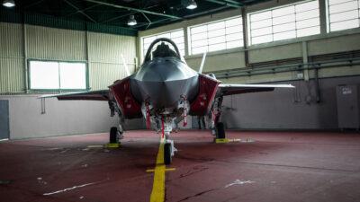 """Πολεμικό Αεροσκάφος F-35 στην Άσκηση """"Ηνίοχος 2019"""""""
