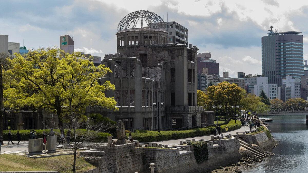 Χιροσίμα, Ιαπωνία - ένα από τα ελάχιστα κτίρια που έμειναν όρθια μετά την πυρηνική επίθεση από τις ΗΠΑ το 1945 (Η μόνη χώρα που βομβάρδισε με πυρηνικά όπλα άλλη χώρα)