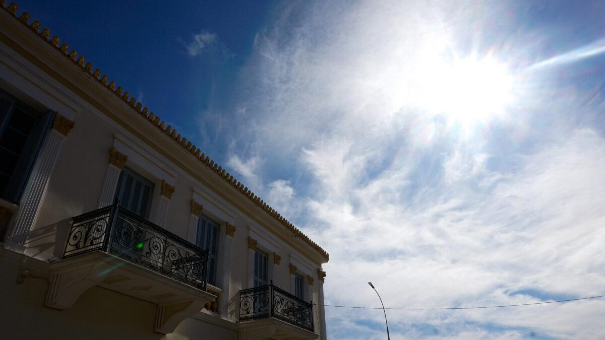 Ηλιοφάνεια στην Ιτέα, Φωκίδα