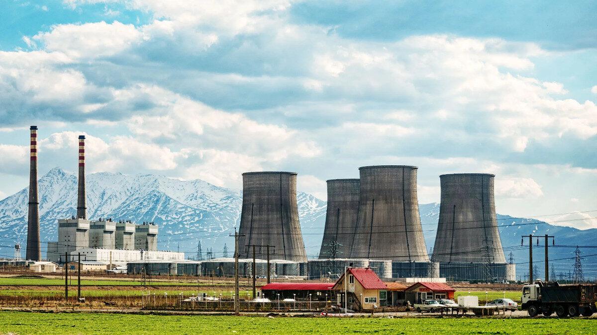 Πυρηνικός Σταθμός παραγωγής ρεύματος στο Αράκ του Ιράν