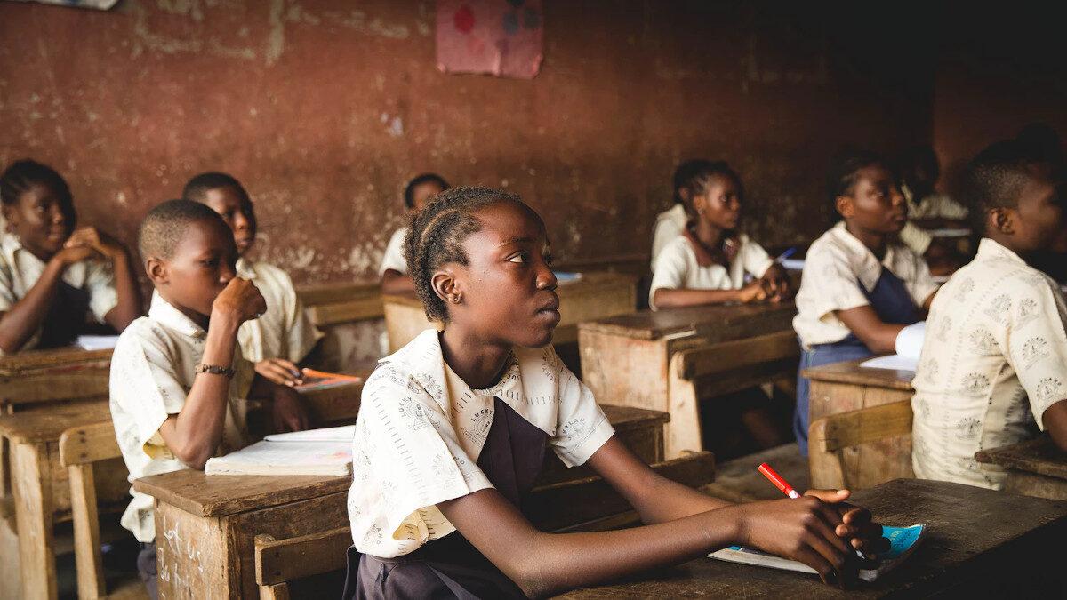 Μαθητές στο Λάγκος της Νιγηρίας