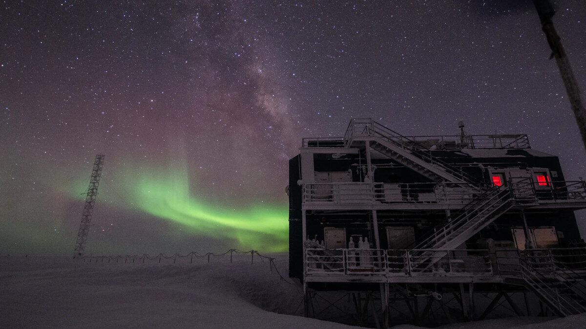 Η Αμερικάνική Επιστημονική Αποστολή στην Ανταρκτική