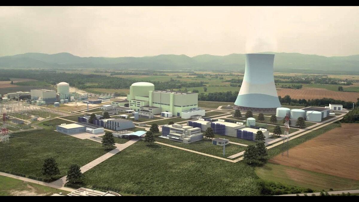 Πυρηνικός Σταθμός παραγωγής ρεύματος στη Σλοβενία