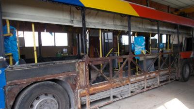 Θεσσαλονίκη, Λεωφορείο του ΟΑΣΘ υπό κατασκευή - ανακατασκευή