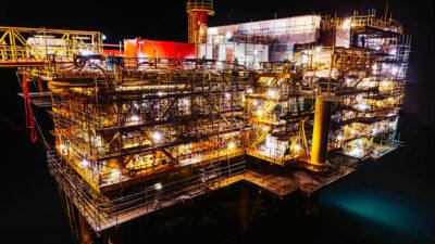 Πλατφόρμα άντλησης Πετρελαίου και Φυσικού Αερίου