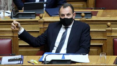 Ο Ν. Παναγιωτόπουλος, Υπουργός Άμυνας της ΝΔ στη συζήτηση για τον Προϋπολογισμό του 2021