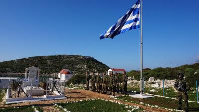 Στρατιώτες στη νήσο Ρω, Σύμπλεγμα Καστελόριζου