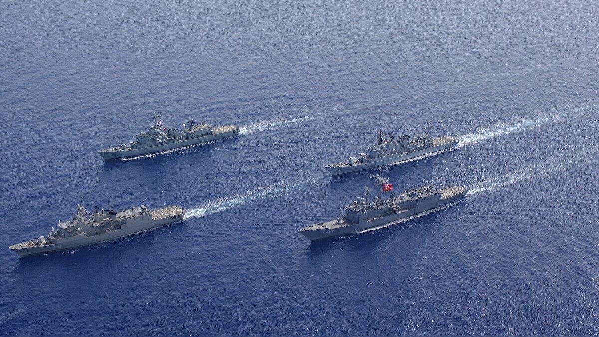 Επιχείρηση SEA GUARDIAN του ΝΑΤΟ (2017) - Ναυαρχίδα η Φρεγάτα Σαλαμίς του Πολεμικού Ναυτικού