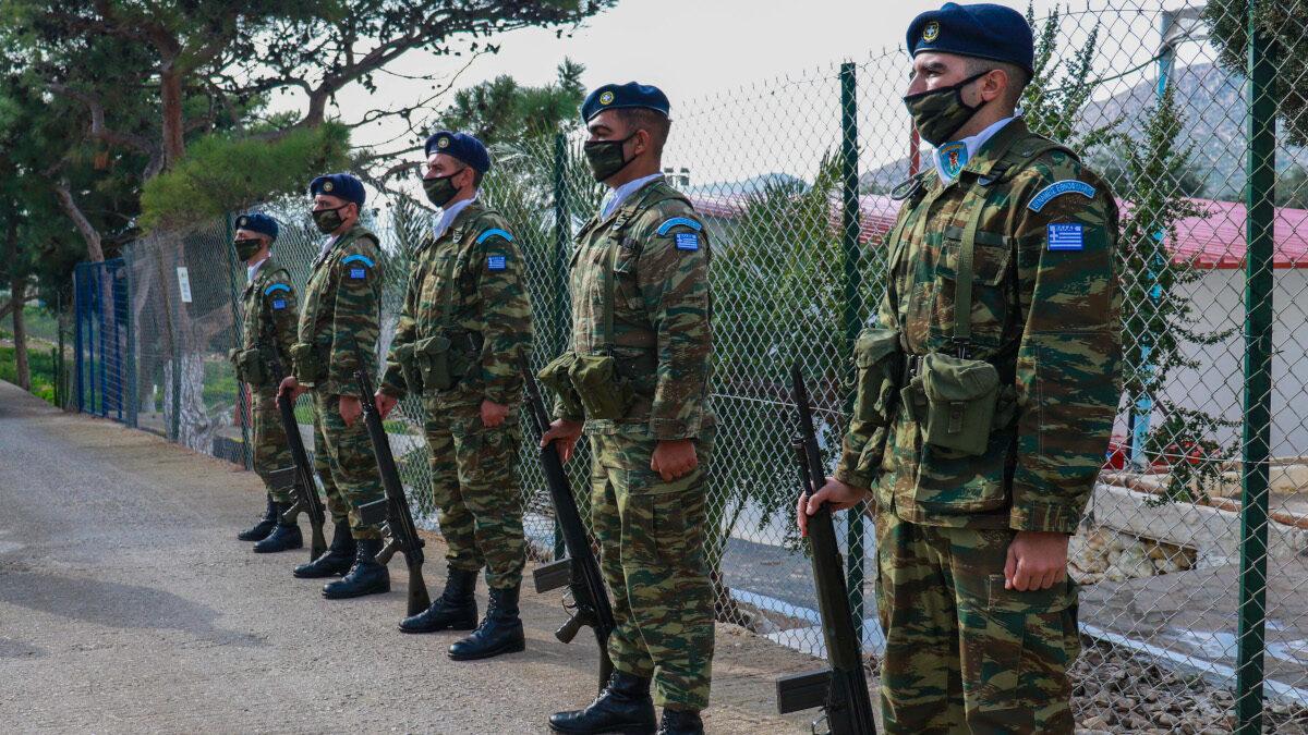 Στρατιώτες Εθνοφρουράς - 95 ΑΔΤΕ - Ρόδος