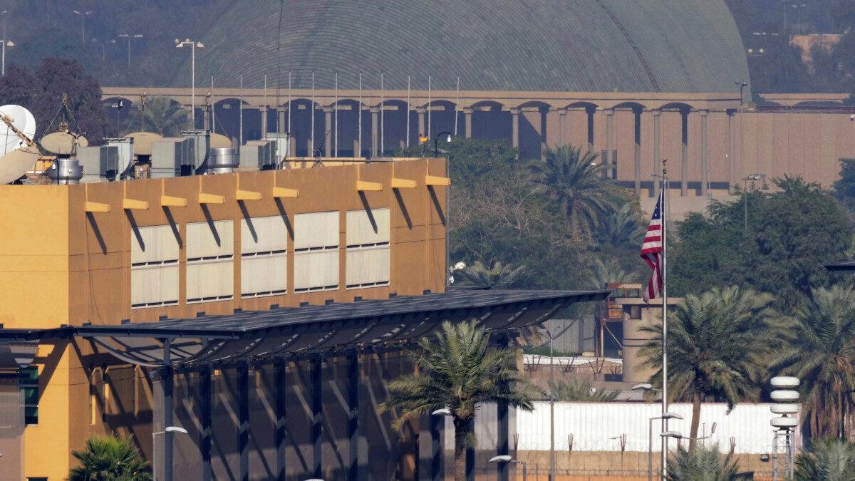 Πρεσβεία των ΗΠΑ στη Βαγδάτη, Ιράκ