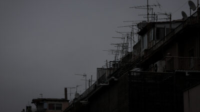 Καιρός - Βροχερός ουρανός στην Αθήνα