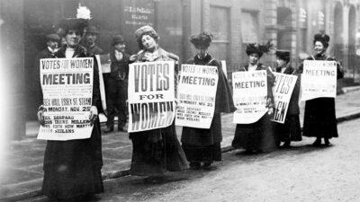 Γυναίκες - δικαίωμα ψήφου στη Βρετανία