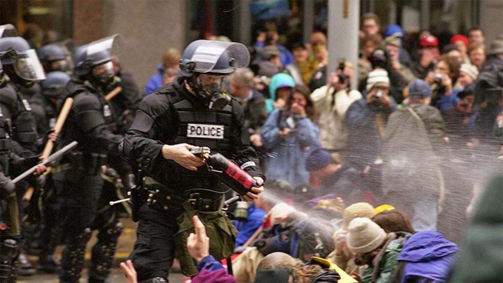 Διαδηλώσεις στο Σιάτλ το 1999