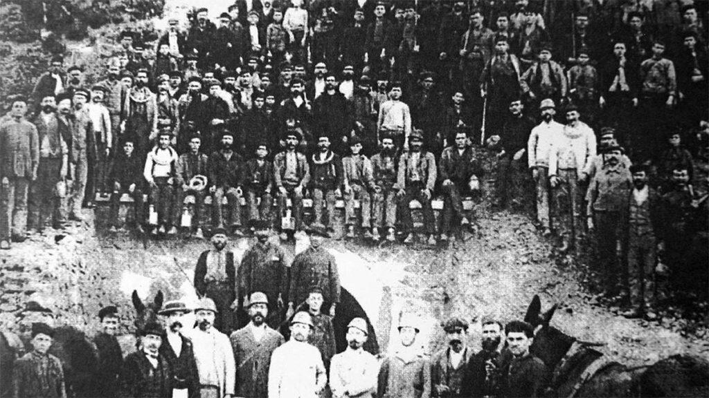 Λαύριο - Απεργία - Μεταλλωρύχοι, 1929