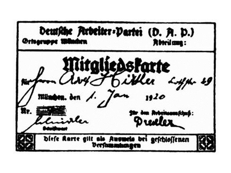 Ναζί - Αδόλφος Χίτλερ