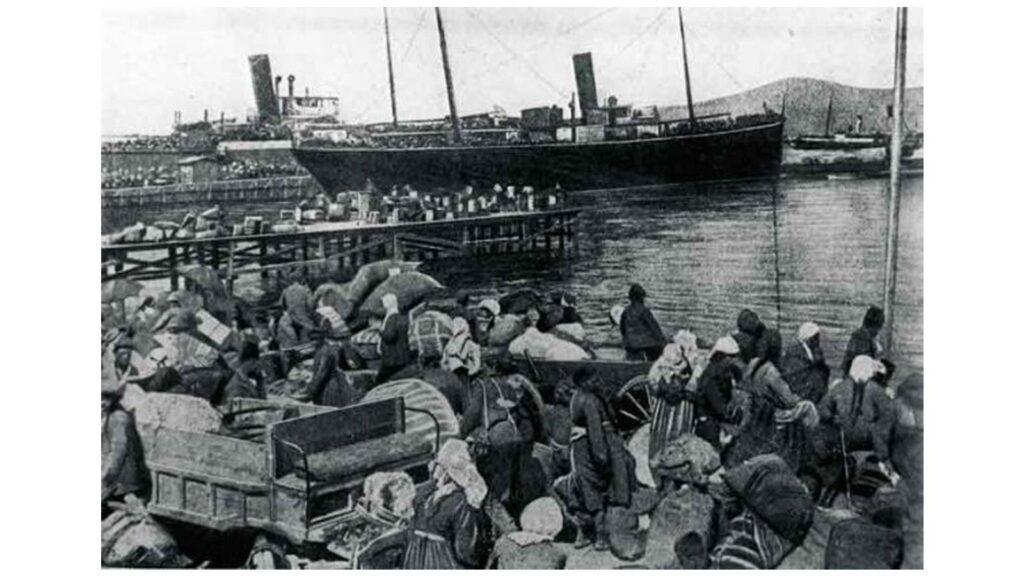 Συνθήκη Λωζάνης - Προσφυγικό, 1923